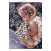 Heaven's Garden Angel Card