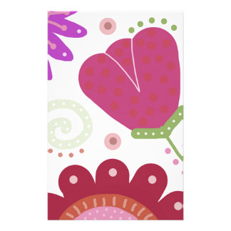 Heavens Gardens.  Colourful Gorgeous Flowers Stationery