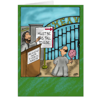 Heavens Gate Motivation Greeting Card