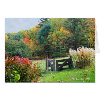 Heaven's Gate: New Hampshire Greeting Card