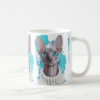 Heavens in the eyes (Sphynx cat) Coffee Mug