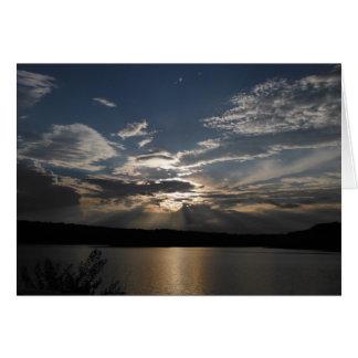 Heaven's Light ~ Blessings and Faith Card