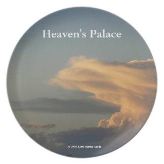 Heaven's Palace Melamine Plate