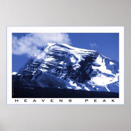 Heavens Peak Print