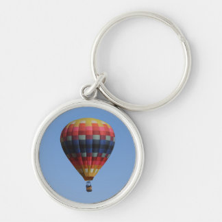 Heavens Quilt Hot Air Balloon Keychain
