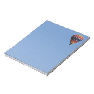 Heavens Quilt Hot Air Balloon Notepad