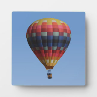 Heavens Quilt Hot Air Balloon Plaque