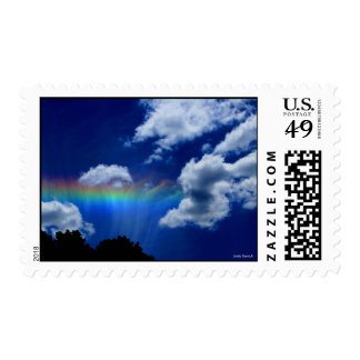 Heavens rainbow stamp