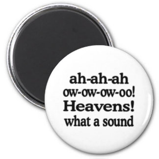 Heavens!  What a Sound Magnet