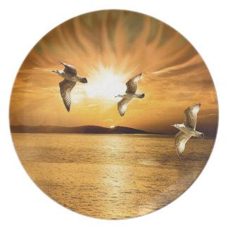 Heavens Wings Dinner Plate