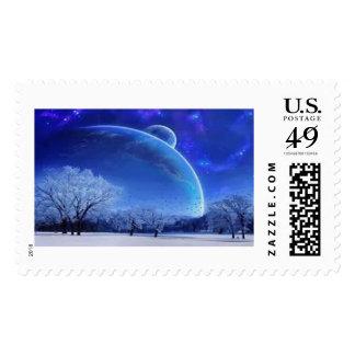 Heavenscape Postage Stamp
