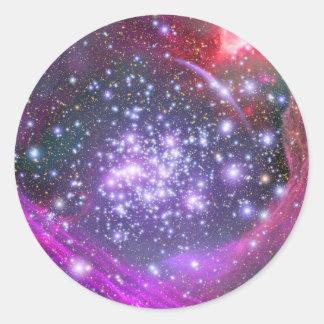 Heaviest Stars in Galaxy, Sagittarius Classic Round Sticker