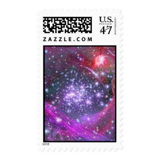 Heaviest Stars in Galaxy, Sagittarius Postage Stamp