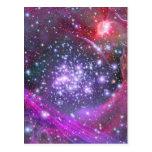 Heaviest Stars in Galaxy, Sagittarius Postcard