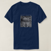 Heavily Meditated Buddha Art T-Shirt