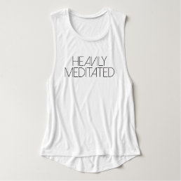 Heavily Meditated | Yoga Tank Top