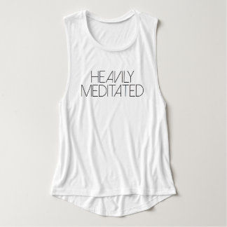 Heavily Meditated | Yoga Tank Top