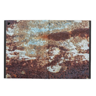 Heavily Rusted Metal Pattern iPad Air Covers