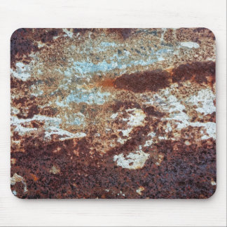 Heavily Rusted Metal Pattern Mouse Pad