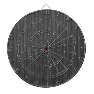 Heavy Black Pin Stripes Dartboard With Darts