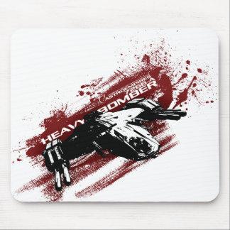 Heavy Bomber splash mouse pad