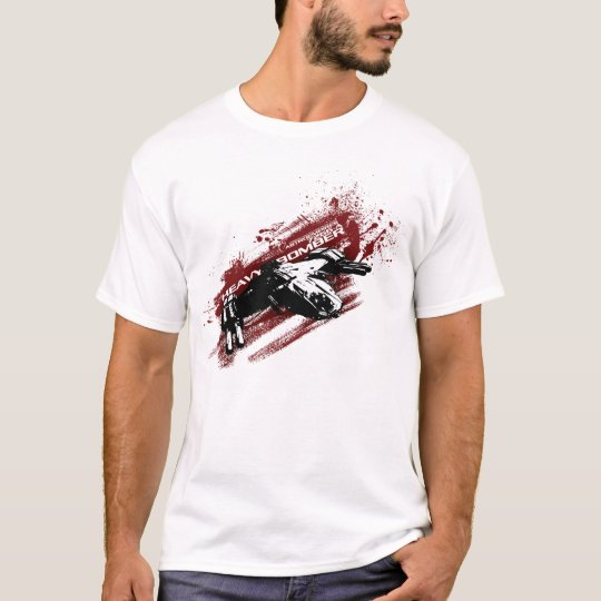 Heavy Bomber splash t-shirt