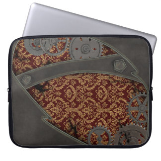 Heavy Bronze Steampunk Laptop Computer Sleeves
