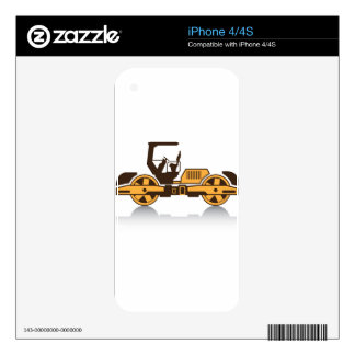 Heavy compactor iPhone 4 decal