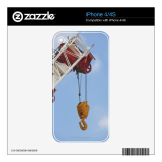 Heavy construction equipment decals for iPhone 4