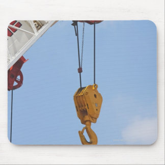 Heavy construction equipment mouse pad