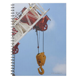 Heavy construction equipment notebook