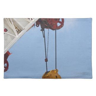 Heavy construction equipment place mats