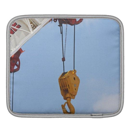 Heavy construction equipment sleeve for iPads