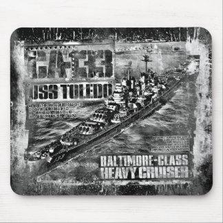 Heavy cruiser Toledo Mouse Pad