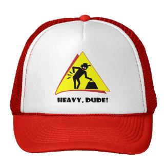 HEAVY DUDE 8 TRUCKER HAT
