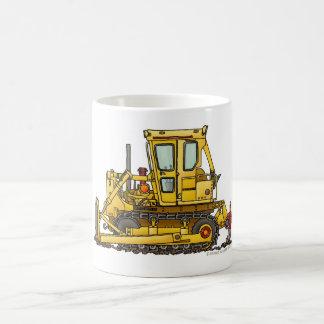 Heavy Duty Bulldozer Dirt Mover Construction Mugs