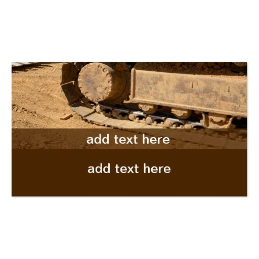 Heavy equipment business plan at