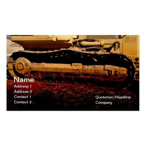 Heavy Duty Construction : Construction business card templates page bizcardstudio