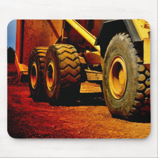 heavy duty construction equipment mouse pads