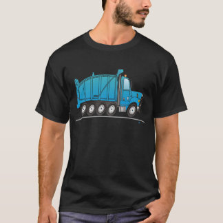 Heavy Duty Dump Truck Blue T-Shirt