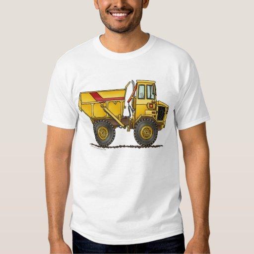 Heavy Duty Dump Truck Construction Apparel T Shirt