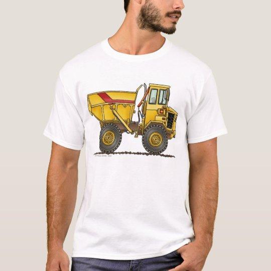 Heavy duty dump truck construction apparel t shirt zazzle for Heavy duty work t shirts
