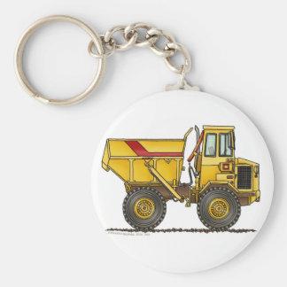 Heavy Duty Dump Truck Construction Key Chains