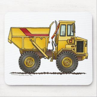 Heavy Duty Dump Truck Construction Mouse Pad