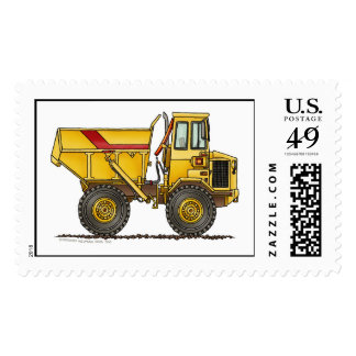 Heavy Duty Dump Truck Construction Stamps