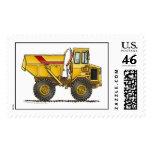 Heavy Duty Dump Truck Construction Stamps