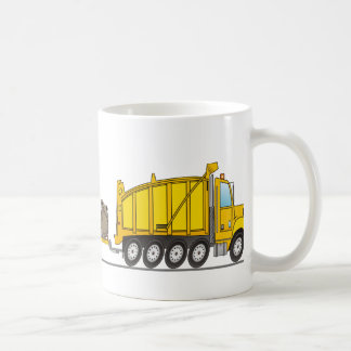 Heavy Duty Dump Truck Crane Coffee Mug
