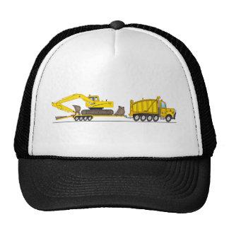 Heavy Duty Dump Truck Crane Trucker Hats