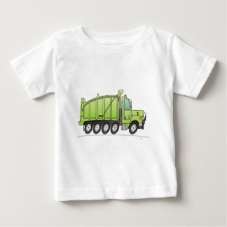 Heavy Duty Dump Truck Green Baby T-Shirt