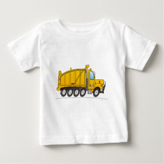 Heavy Duty Dump Truck Yellow Baby T-Shirt